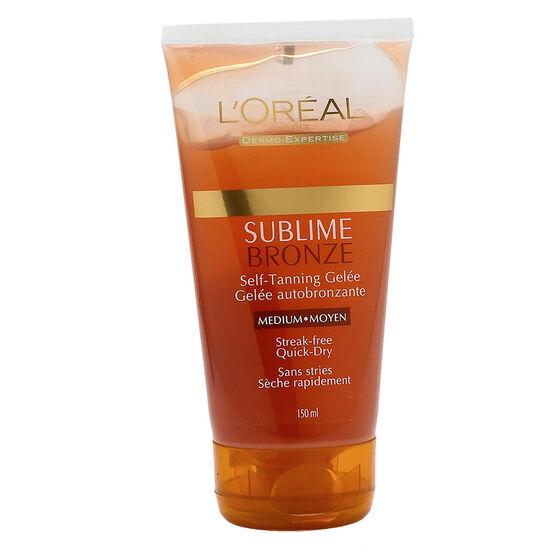 L'Oreal Sublime Bronze Self Tan Gelée - Medium - 150ml