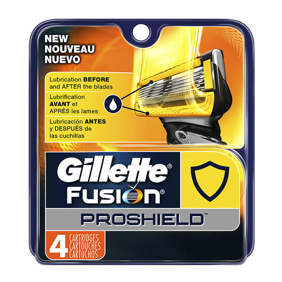 Gillette Fusion Proshield Cartridges - 4's