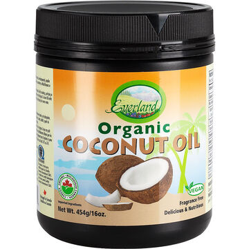 Everland Organic Coconut Oil - 454g