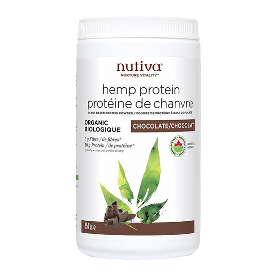 Nutiva Hemp Protein - Chocolate - 454g