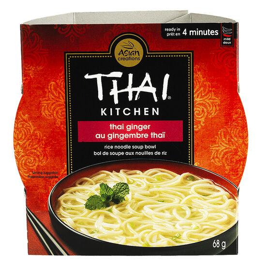 Thai Kitchen Rice Noodle Bowl Thai Ginger 68g London Drugs