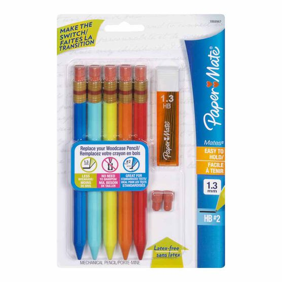 Paper Mate Mechanical Pencil Set - 5 pack - Assorted