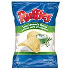 Ruffles Potato Chips - Sour Cream N Onion - 220g