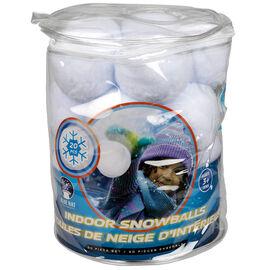 Blue Hat - Indoor Snowballs