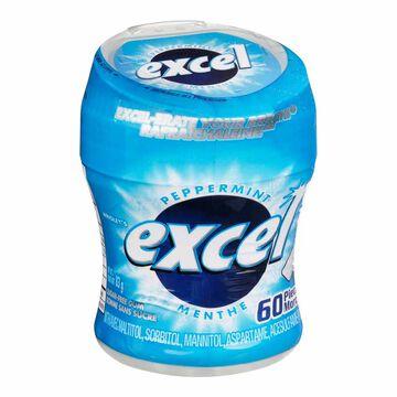 Excel Gum - Peppermint - 60's