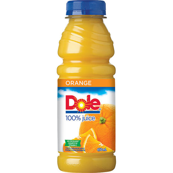 Dole Bottled Juices - Orange - 450ml