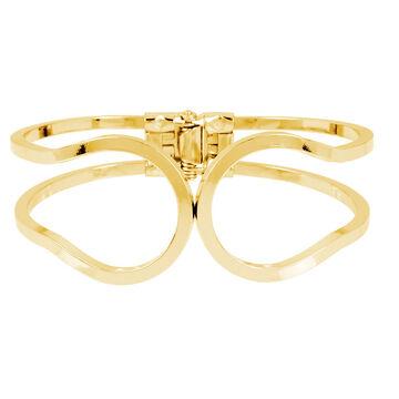 Haskell Open Cuff Bracelet - Gold