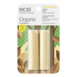 eos Lip Balm - Vanilla Bean - 2 x 4g