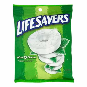 Lifesavers Wint O Green - 150g