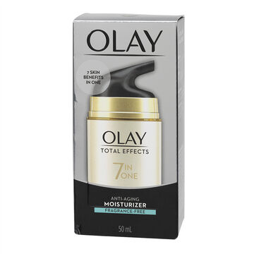 Olay Total Effects 7x Visible Anti-Aging Moisturizing Cream - Fragrance Free - 50ml