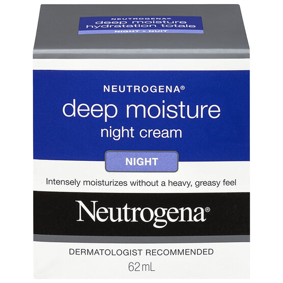 Neutrogena Deep Moisture Night Cream - 62ml