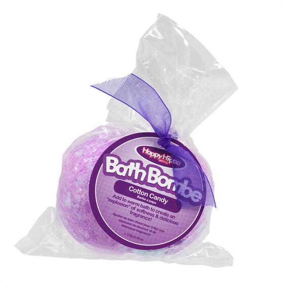 Happy Hippo Bath Bombe - Cotton Candy - 155g