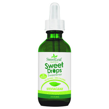 SweetLeaf Liquid Stevia Sweet Drops - 60ml