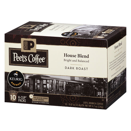 Peet's Coffee Pods - House Blend - 10 servings