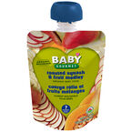 Baby Gourmet Baby Food Stage 2 - Roast Squash and Fruit Medley - 128ml