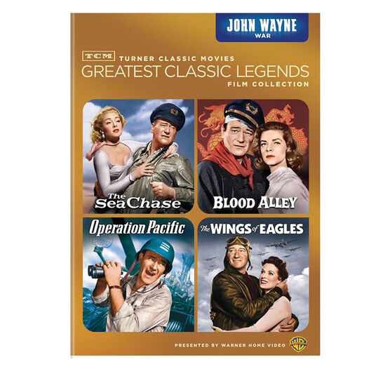 Tcm Greatest Classic Films: Legends - John Wayne War - DVD