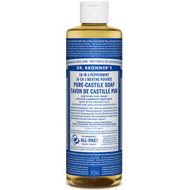 Dr. Bronner's Liquid Pure-Castile Soap - Peppermint - 473ml