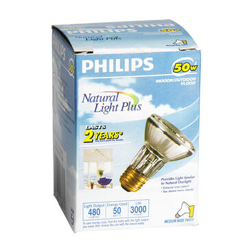 Philips 50W Natural Flood Light Bulb - 166488