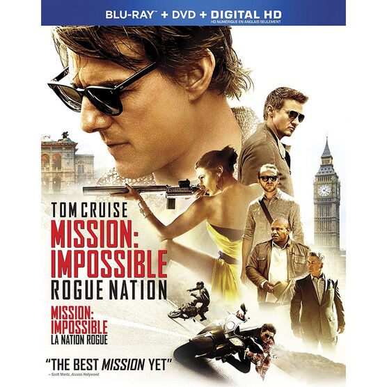 Mission Impossible - Rogue Nation - Blu-ray + DVD + Digital