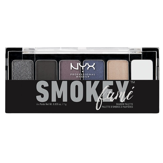 NYX Professional Makeup Eyeshadow Palette - Smokey