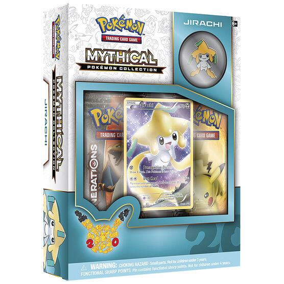 Pokémon Mythical Collection - Jirachi Box