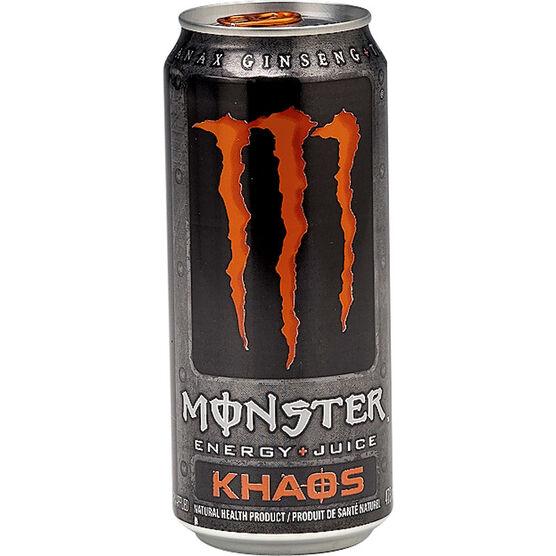 Monster Energy Juice - Khaos - 473ml