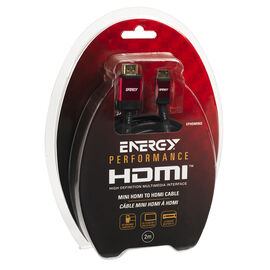 Energy HDMI to Mini Cable Type A-C - 2M - EPHDMINI2