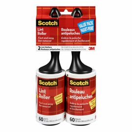 3M Scotch Lint Roller Value Pack - 2 pack