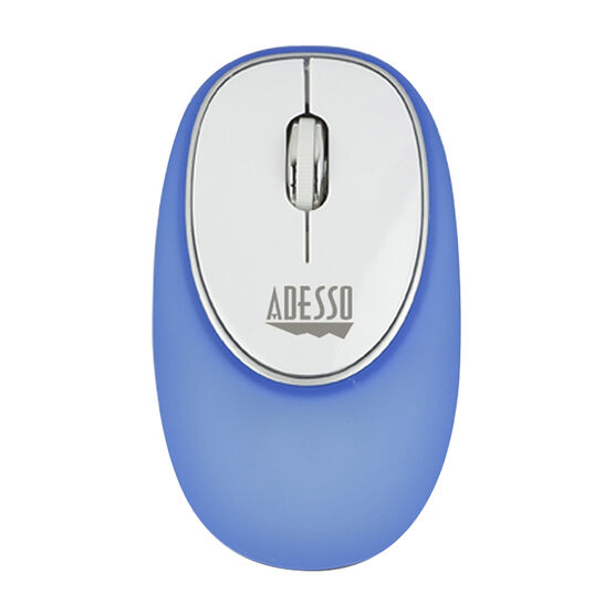 Adesso iMouse E60 2.4GHz RF Wireless Gel Mouse - Blue - E60L