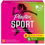 Playtex Sport - Multi-Pack - Unscented - 36's