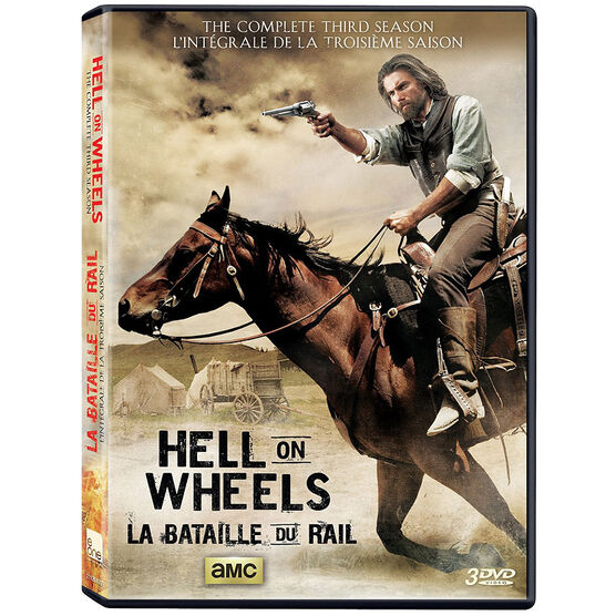 Hell On Wheels: Season 3 - DVD