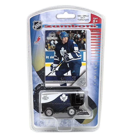 Maple Leafs Zamboni with Collectable Card - Lindros