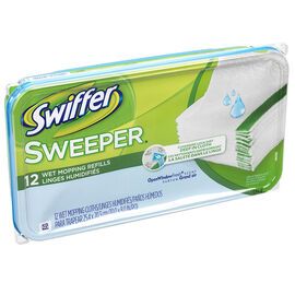 Swiffer Wet Disposable Cloths - 12's