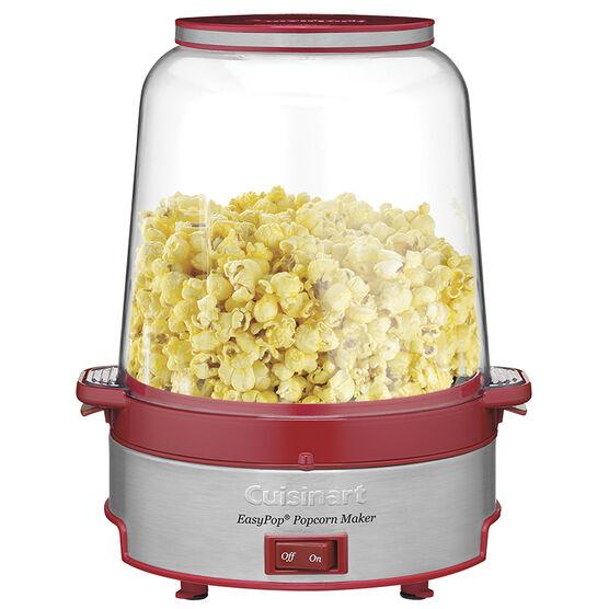Cuisinart EasyPop Popcorn Maker - Red/Stainless Steel - CPM-700C