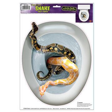 Halloween Snake Toilet Topper