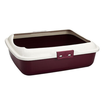 London Drugs Cat Litter Tray with Rim - Assorted - 50 x40 x 16cm