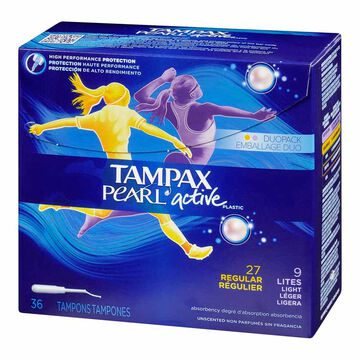 Tampax Pearl Active Duo - 36's