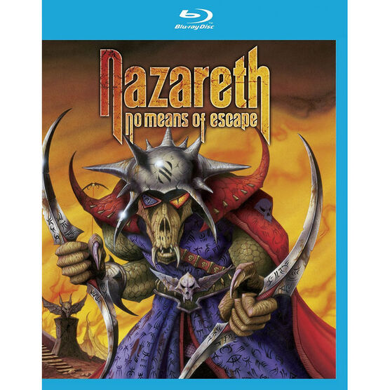Nazareth: No Means of Escape - Blu-ray