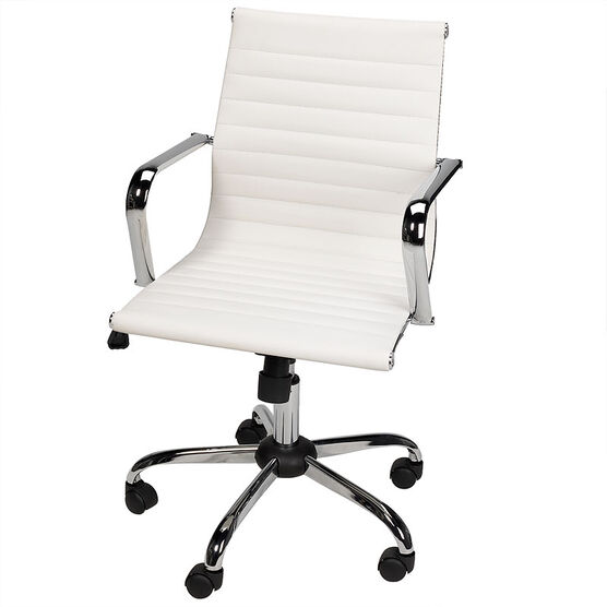 London Drugs Metal Office Chair - White