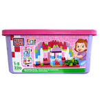 Mega Bloks First Builders Tub - Pink