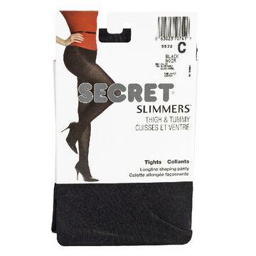 Secret Shaper Tights - C - Black