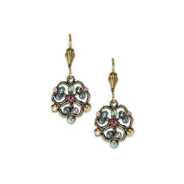 Anne Koplik Clover Filigree Drop Earrings