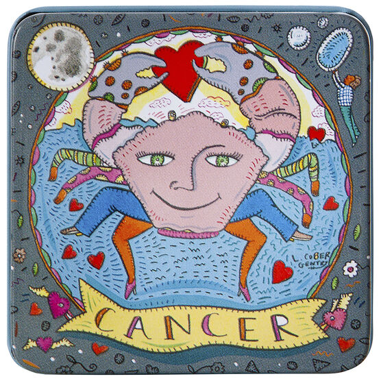 Zodiac Soap in Tin - Cancer - 100g