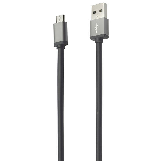 Logiix Piston Connect Micro XL Cable - Black - LGX11929