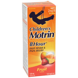 Motrin Children's Liquid Suspension - Fruit - 120ml