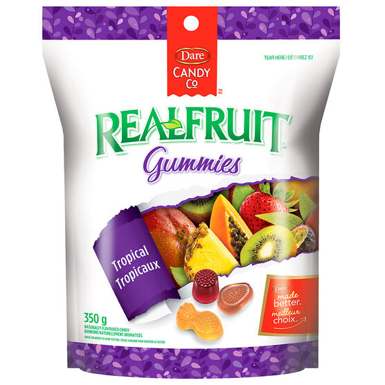 Dare Real Fruit Gummies - Tropical - 350g