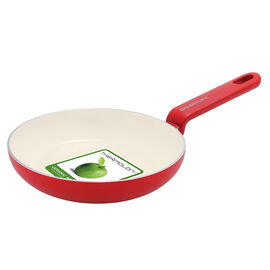Green Life Foodies Fry Pan - Red - 20cm