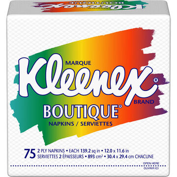 Kleenex Boutique Napkins - 75's