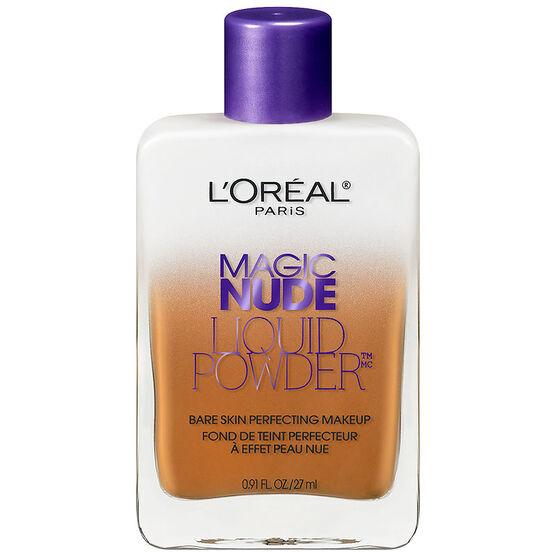 L'Oreal Skin Perfecting Magic Nude Liquid Powder Makeup - Classic Tan