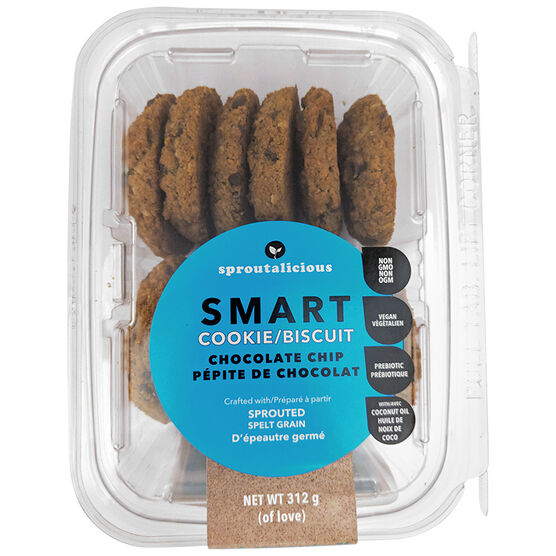 Sproutalicious Smart Cookies - Chocolate Chip - 320g